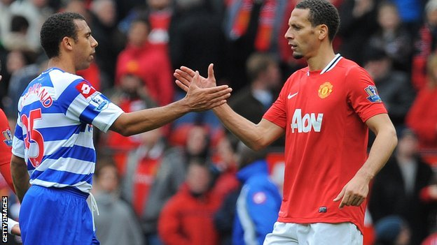 Anton and Rio Ferdinand