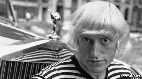 Jimmy Savile in 1964