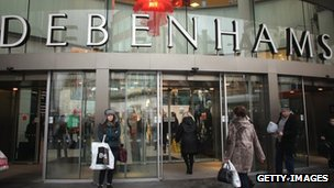 Branch of Debenhams in Liverpool