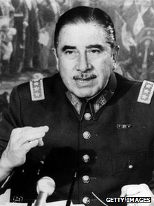 Gen Augusto Pinochet - file photo