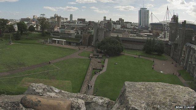 Cardiff skyline