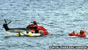 All passengers and crew were rescued when a Super Puma EC225 ditched off Shetland last year