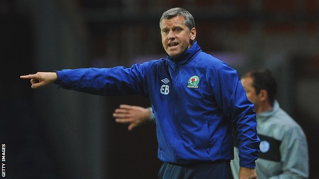 Blackburn Rovers caretaker manager Eric Black