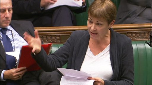 Green MP Caroline Lucas