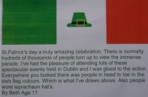 A great account of St Patrick&#039;s day from Beth!