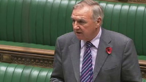 Conservative MP Sir Malcolm Bruce