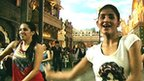 BBC F1 team gets incredible Bollywood welcome to India