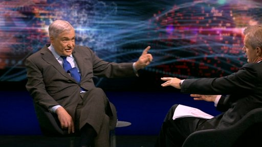 Conrad Black and Stephen Sackur