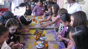 Centro Educativo Pupils prepare for Day of the Dead!