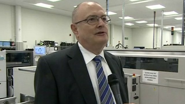 Renishaw assistant chief executive Ben Taylor
