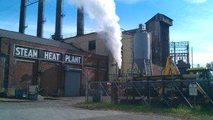 Steam heat plant, Ohio