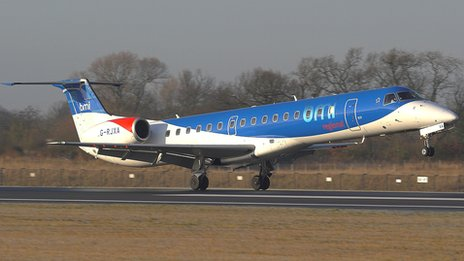 BMI Regional aircraft