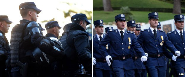 Vatican gendarmes