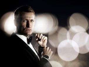 Steve Wright as Daniel Craig's James Bond