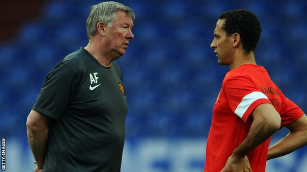 Sir Alex Ferguson supports Rio Ferdinand&#039;s statement on racism