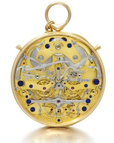The Space Travellers' watch uses Dr Daniels' independent double wheel escapement