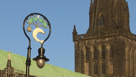 Glasgow Cathedral leads to a story about the status of different religions in Africa
