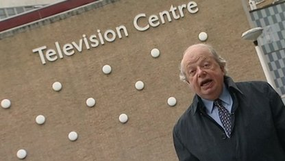 John Sergeant at TV Centre