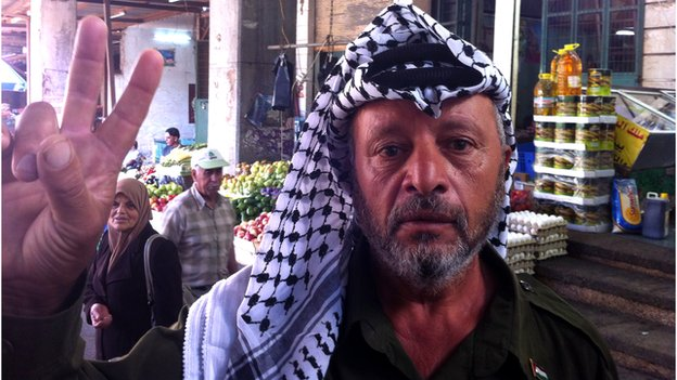 Yasser Arafat lookalike Salem Smeirat