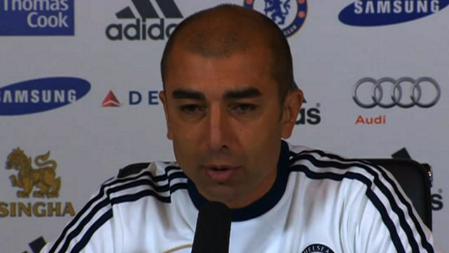 Chelsea manager Roberto Di Matteo