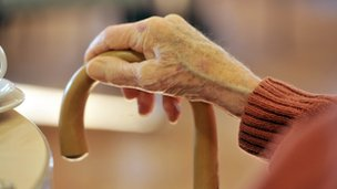 A day centre for the elderly