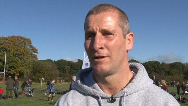 England rugby head coach Stuart Lancaster