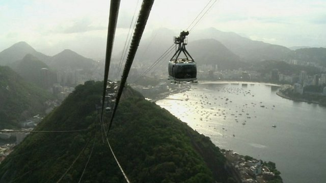 Cable car in Rio de Janeiro