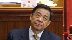 March 5, 2012, Bo Xilai attends the opening session of the National Peoples Congress