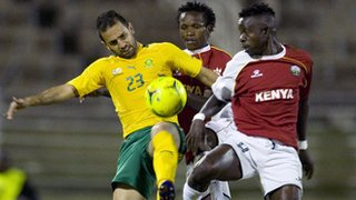 South Africa beat Kenya in October's friendly