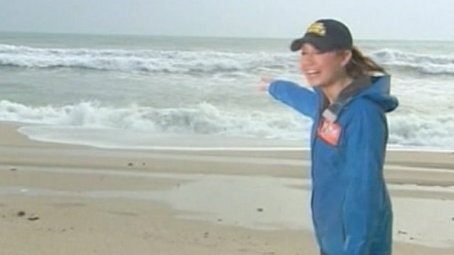 ABC's Sandy Zee in Florida