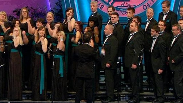 Severn Trent Choir in the final
