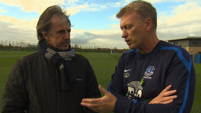 Mark Lawrenson and David Moyes