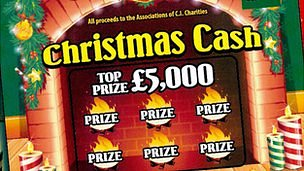Channel Islands Christmas Lottery 2012 tickets