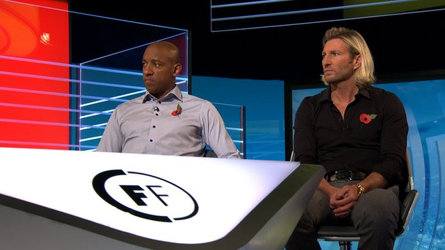 Dion Dublin and Robbie Savage
