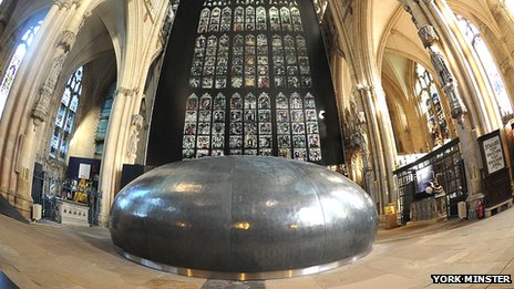 Orb at York Minster