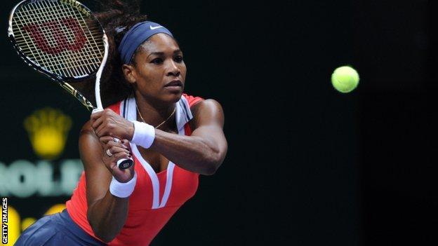 Serena Williams beats Agnieszka Radwanska in semi-finals of WTA Championship in Istanbul