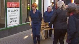 Mary Portas in Liskeard
