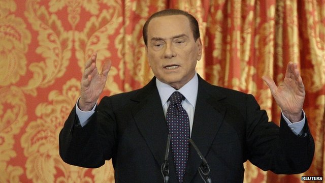 Italian PM Berlusconi