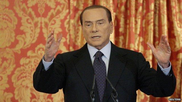 Italian PM Berlusconi