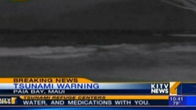 tsunami hawaii