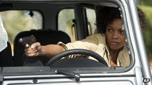 Mark Higgins doubled for Naomie Harris in some of her driving scenes in Skyfall