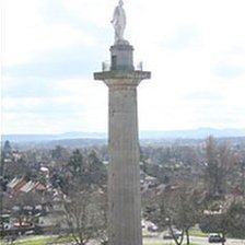 Lord Hill statue and column