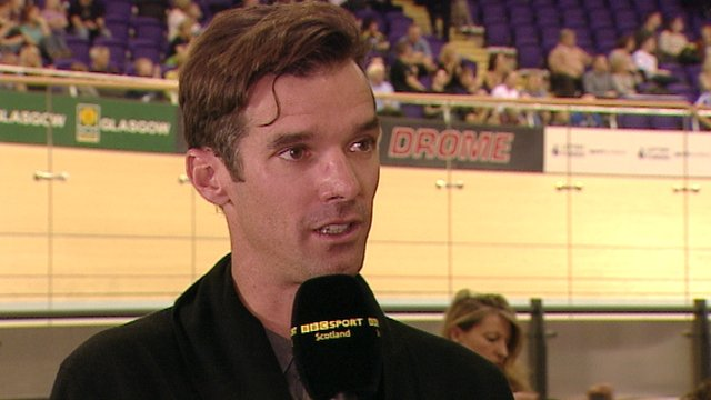 Scottish cyclist David Millar