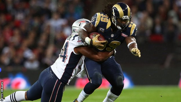 New England Patriots v St Louis Rams at Wembley