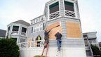Mae West Hotel is boarded up in Cape May, New Jersey
