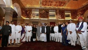 The new Indian cabinet