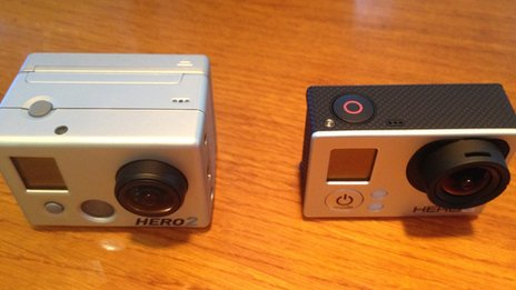 GoPro cameras old v new