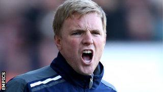 Former Burnley manager Eddie Howe