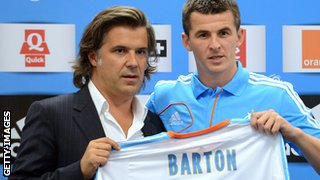 Joey Barton signs for Marseille