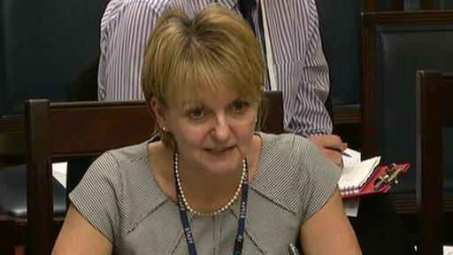 Prison Service Director General Sue McAllister
